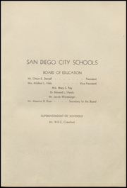 Page 11, 1939 Edition, Herbert Hoover High School - Dias Cardinales Yearbook (San Diego, CA) online yearbook collection