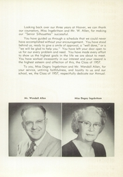 Page 9, 1957 Edition, Herbert Hoover High School - Dias Cardinales Yearbook (San Diego, CA) online yearbook collection