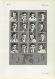 Page 13, 1933 Edition, Corona High School - Coronal Yearbook (Corona, CA) online yearbook collection