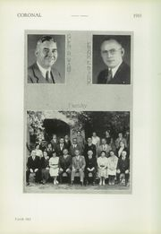 Page 8, 1933 Edition, Corona High School - Coronal Yearbook (Corona, CA) online yearbook collection