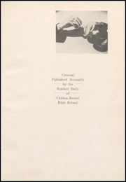 Page 5, 1940 Edition, Corona High School - Coronal Yearbook (Corona, CA) online yearbook collection