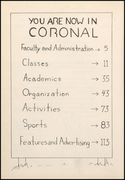 Page 6, 1951 Edition, Corona High School - Coronal Yearbook (Corona, CA) online yearbook collection