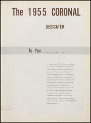 Page 11, 1955 Edition, Corona High School - Coronal Yearbook (Corona, CA) online yearbook collection