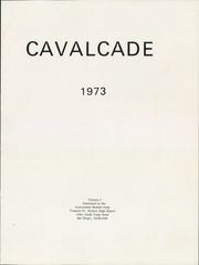 Page 5, 1973 Edition, Francis Parker High School - Cavalcade Yearbook (San Diego, CA) online yearbook collection