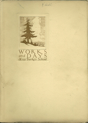 1924 Edition, Katherine Delmar Burke School - Works and Days Yearbook (San Francisco, CA)