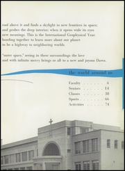 Page 7, 1958 Edition, Mercy High School - Yearbook (San Francisco, CA) online yearbook collection