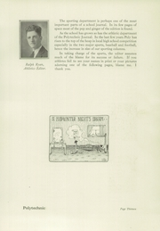 Page 17, 1922 Edition, Polytechnic High School - Polytechnic Yearbook (San Francisco, CA) online yearbook collection
