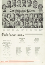 Page 17, 1936 Edition, Polytechnic High School - Polytechnic Yearbook (San Francisco, CA) online yearbook collection