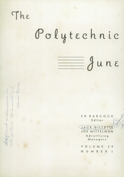 Page 6, 1936 Edition, Polytechnic High School - Polytechnic Yearbook (San Francisco, CA) online yearbook collection