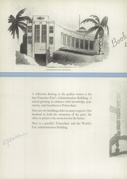 Page 12, 1938 Edition, Polytechnic High School - Polytechnic Yearbook (San Francisco, CA) online yearbook collection