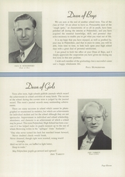 Page 15, 1938 Edition, Polytechnic High School - Polytechnic Yearbook (San Francisco, CA) online yearbook collection