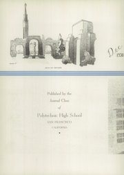Page 6, 1938 Edition, Polytechnic High School - Polytechnic Yearbook (San Francisco, CA) online yearbook collection
