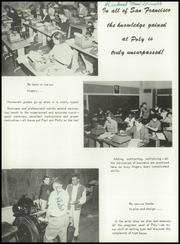 Page 12, 1955 Edition, Polytechnic High School - Polytechnic Yearbook (San Francisco, CA) online yearbook collection