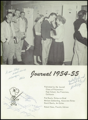 Page 7, 1955 Edition, Polytechnic High School - Polytechnic Yearbook (San Francisco, CA) online yearbook collection