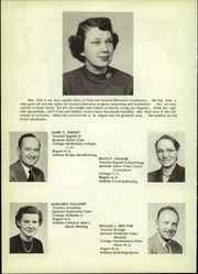 Page 10, 1953 Edition, Wheat Ridge High School - Agrarian Yearbook (Wheat Ridge, CO) online yearbook collection