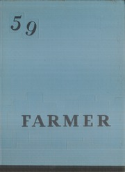 1959 Edition, Wheat Ridge High School - Agrarian Yearbook (Wheat Ridge, CO)