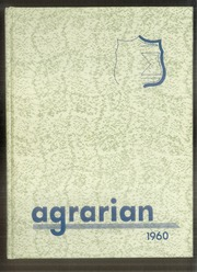1960 Edition, Wheat Ridge High School - Agrarian Yearbook (Wheat Ridge, CO)