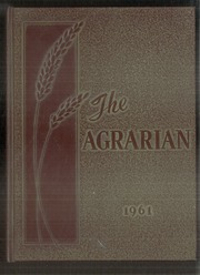 1961 Edition, Wheat Ridge High School - Agrarian Yearbook (Wheat Ridge, CO)