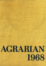 1968 Edition, Wheat Ridge High School - Agrarian Yearbook (Wheat Ridge, CO)