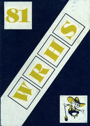 1981 Edition, Wheat Ridge High School - Agrarian Yearbook (Wheat Ridge, CO)