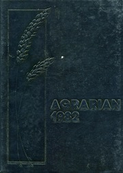 1982 Edition, Wheat Ridge High School - Agrarian Yearbook (Wheat Ridge, CO)