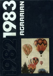 1983 Edition, Wheat Ridge High School - Agrarian Yearbook (Wheat Ridge, CO)