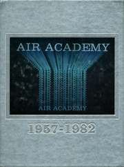 1982 Edition, Air Academy High School - Vapor Trails Yearbook (USAF Academy, CO)