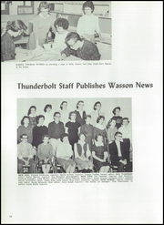 Page 72, 1960 Edition, Wasson High School - Wahian Yearbook (Colorado Springs, CO) online yearbook collection