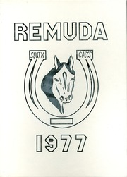 1977 Edition, South High School - Remuda Yearbook (Pueblo, CO)