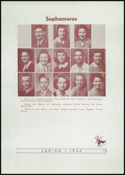 Page 17, 1944 Edition, Lakewood High School - Lahian Yearbook (Lakewood, CO) online yearbook collection