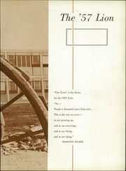 Page 7, 1957 Edition, Littleton High School - Lion Yearbook (Littleton, CO) online yearbook collection