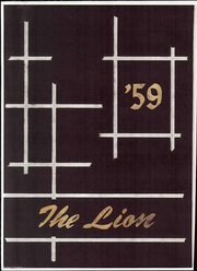 Page 1, 1959 Edition, Littleton High School - Lion Yearbook (Littleton, CO) online yearbook collection