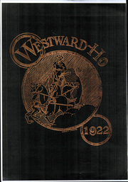 Page 1, 1922 Edition, West High School - Westerner Yearbook (Denver, CO) online yearbook collection
