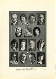 Page 12, 1922 Edition, West High School - Westerner Yearbook (Denver, CO) online yearbook collection