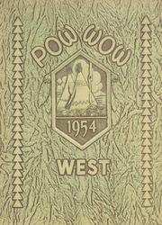 1954 Edition, West High School - Westerner Yearbook (Denver, CO)