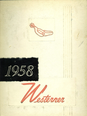 1958 Edition, West High School - Westerner Yearbook (Denver, CO)