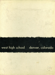 Page 160, 1958 Edition, West High School - Westerner Yearbook (Denver, CO) online yearbook collection