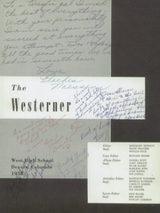 Page 5, 1958 Edition, West High School - Westerner Yearbook (Denver, CO) online yearbook collection
