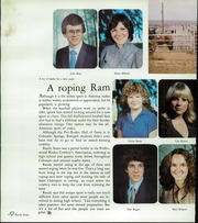 Page 12, 1983 Edition, Rampart High School - Rampages Yearbook (Colorado Springs, CO) online yearbook collection