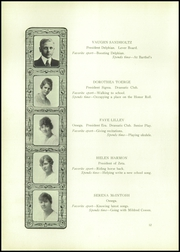 Page 14, 1918 Edition, Palmer High School - Terror Trail Yearbook (Colorado Springs, CO) online yearbook collection