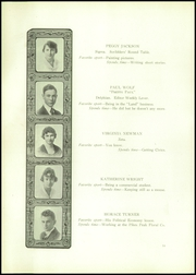 Page 16, 1918 Edition, Palmer High School - Terror Trail Yearbook (Colorado Springs, CO) online yearbook collection