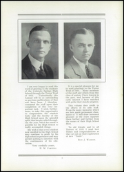 Page 11, 1931 Edition, Palmer High School - Terror Trail Yearbook (Colorado Springs, CO) online yearbook collection