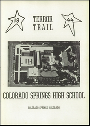 Page 7, 1944 Edition, Palmer High School - Terror Trail Yearbook (Colorado Springs, CO) online yearbook collection