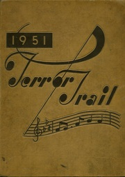 1951 Edition, Palmer High School - Terror Trail Yearbook (Colorado Springs, CO)