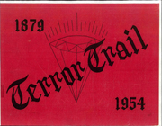 1954 Edition, Palmer High School - Terror Trail Yearbook (Colorado Springs, CO)
