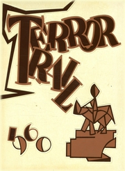 1960 Edition, Palmer High School - Terror Trail Yearbook (Colorado Springs, CO)