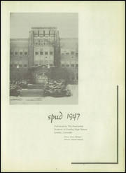Page 7, 1947 Edition, Greeley Central High School - Spud Yearbook (Greeley, CO) online yearbook collection