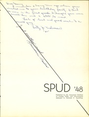 Page 7, 1948 Edition, Greeley Central High School - Spud Yearbook (Greeley, CO) online yearbook collection