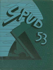 1953 Edition, Greeley Central High School - Spud Yearbook (Greeley, CO)