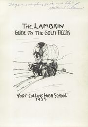 Page 5, 1935 Edition, Fort Collins High School - Lambkin Yearbook (Fort Collins, CO) online yearbook collection